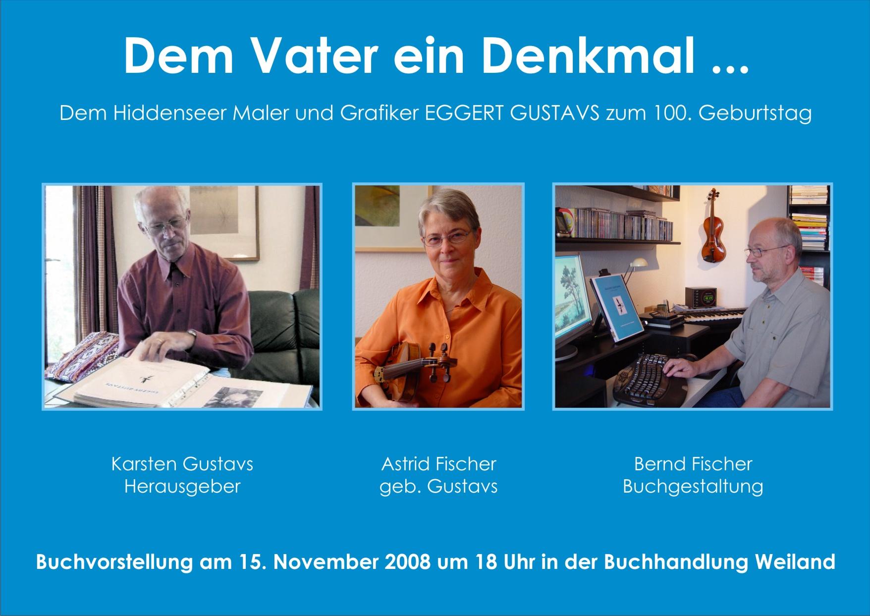 Plakat Buchvorstellung in Neubrandenburg
