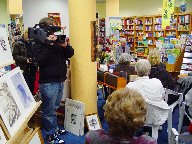 Lesung und Buchpräsentation am 20. November 2008 in der Fontane-Buchhandlung Neuruppin