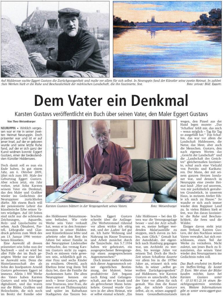 Ruppiner Anzeiger 26. August 2008