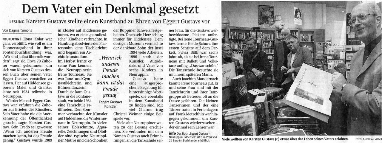 Märkische Allgemeine 22.11.2008