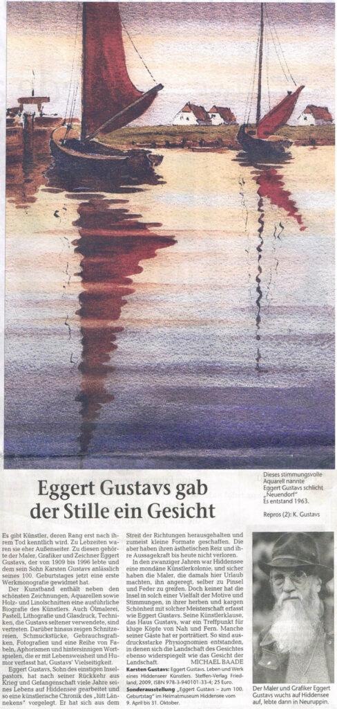 Ostseezeitung 28. März 2009