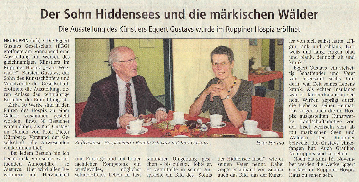 Ruppiner Anzeiger 27. September 2011