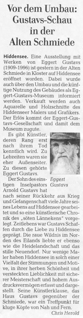 Ostseezeitung 4. Juni 2016