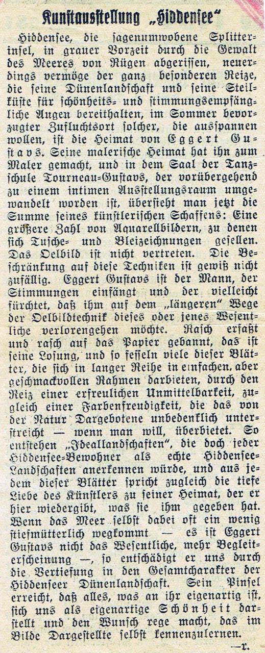 Märkische Zeitung 1934