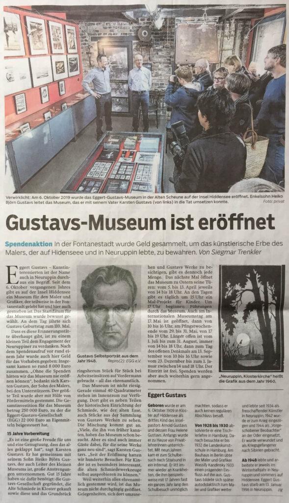 Märkische Zeitung - Ruppiner Anzeiger 29. Februar 2020